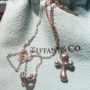 T&CO cross necklace